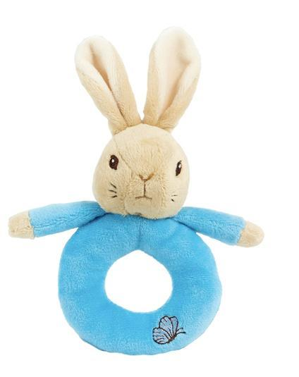 Peter Rabbit Ring Rattles