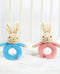 Peter Rabbit & Flopsy Rabbit Ring Rattles