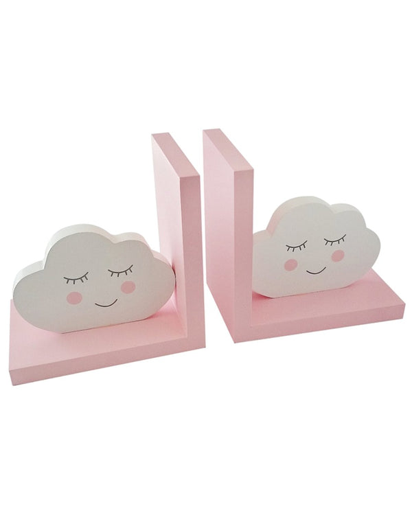 Pink Clouds Bookends
