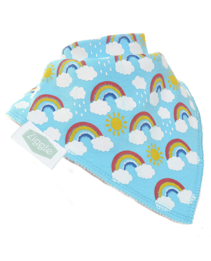 Ziggle Rainbow Design Bib