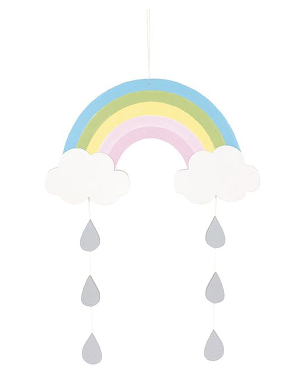 Hanging Rainbow Mobile