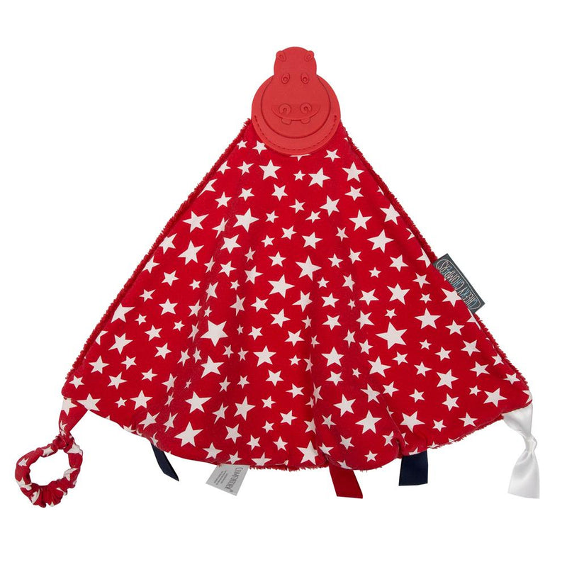 Cheeky chompers Comforter with Teether & Tags