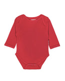 Toby Tiger Organic Cotton Red Bodysuit Vest