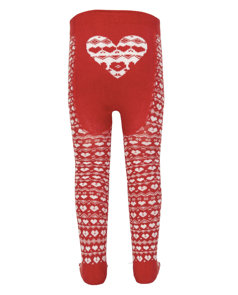 Kite Clothing Organic Cotton Red Tights