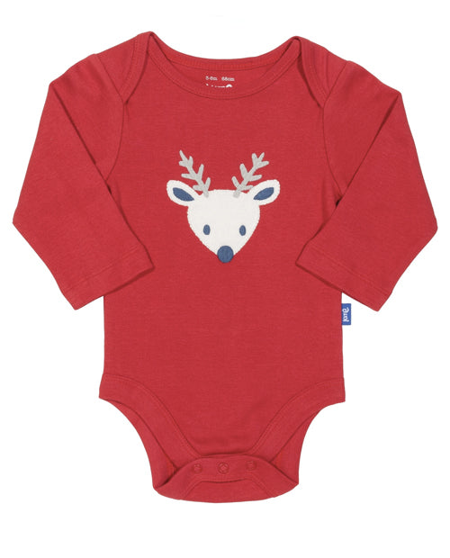 Kit Clothing Reindeer Body Suit Vest