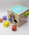 Mwnci Wooden Welsh Shape Sorter