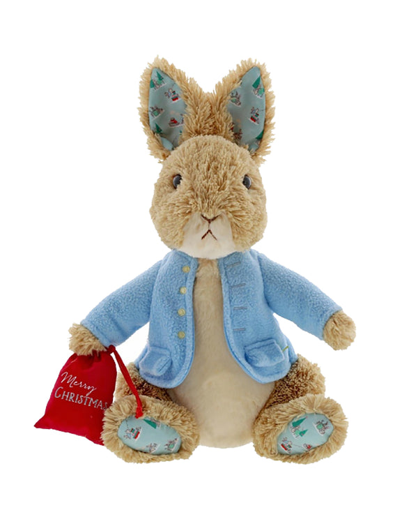 Peter Rabbit Christmas Soft Toy