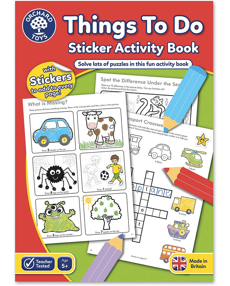 Orchard Things To Do Activity Book