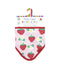 Organic Cotton Strawberries Bib