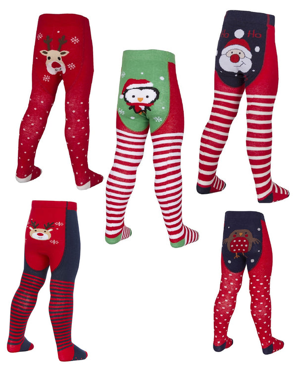 Christmas Novelty Design Tights