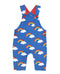 Toby Tiger Organic Cotton Rainbow Dungarees