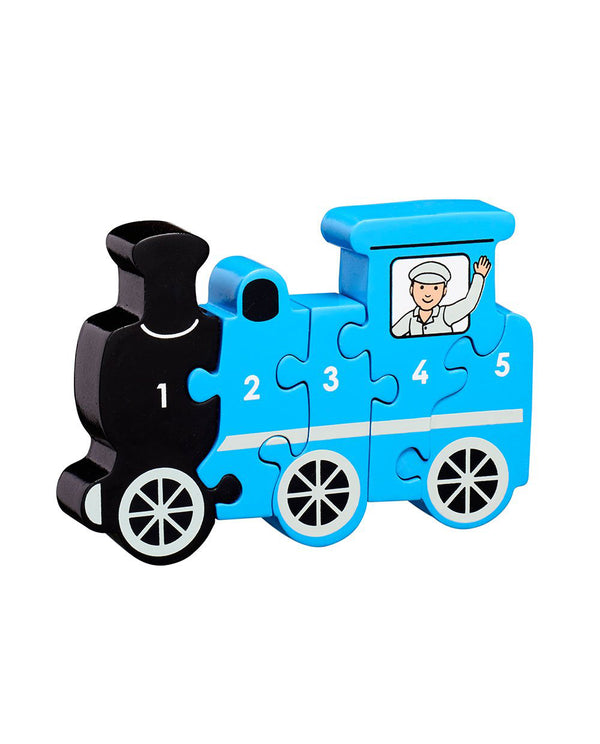 Lanka kade Wooden Train Counting Puzzle