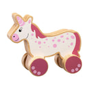 Wooden Push Along Toys lanka kade unicorn