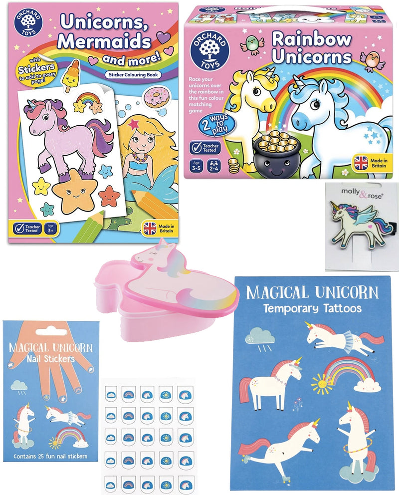 Unicorn Set - Age 3-5yrs