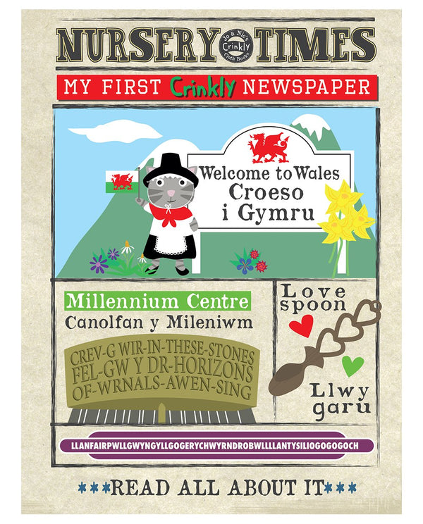 Welcome to Wales - Nursery Times Crinkly Newspaper