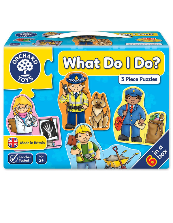 orchard toys What Do I Do Jigsaw Puzzle