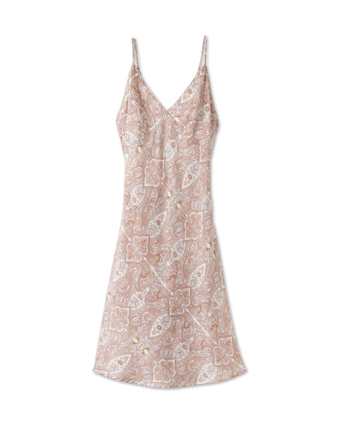 Paisley Cotton Silk Nightgown