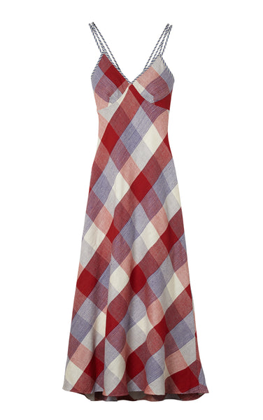 Checkered Maxi - RED