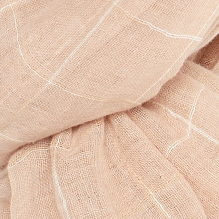 Crosshatch (Wide) - Light Pink