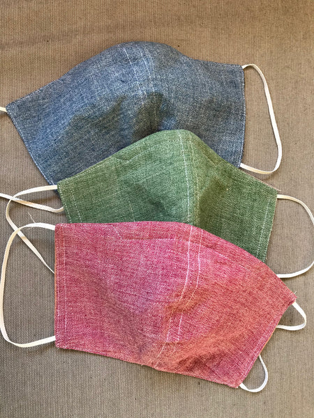 Chambray Two-Tone Masks
