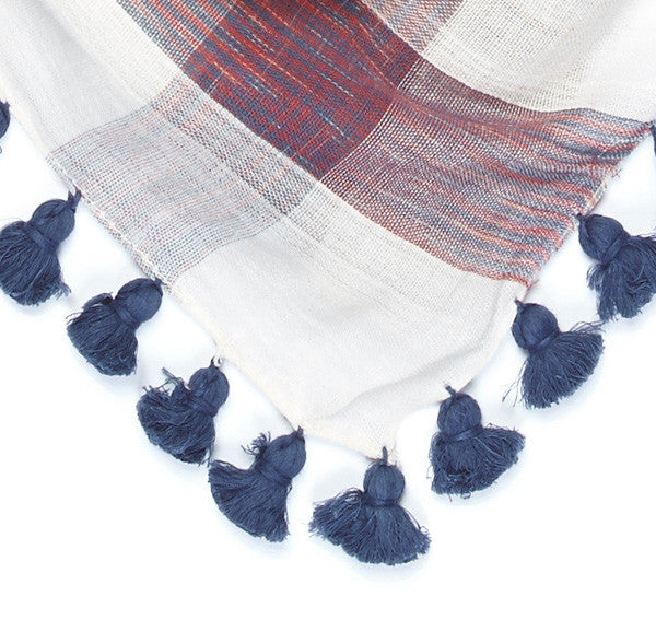 Plaid Medley - Navy