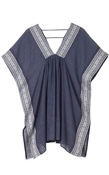 Striped Brocade Tunic