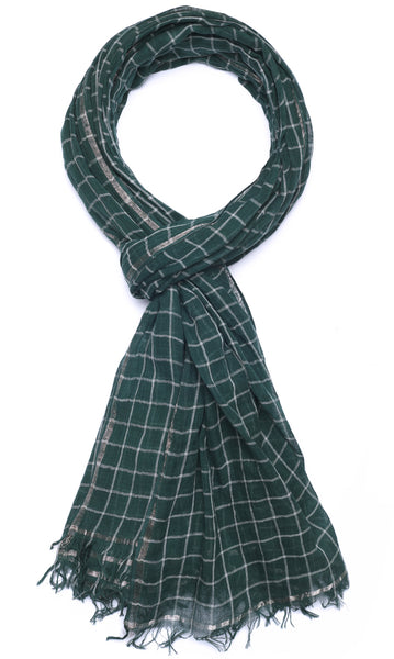 Windowpane - Dark Green