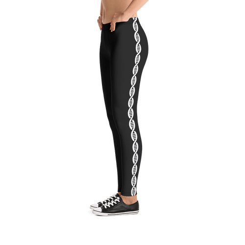DNA Double Helix Leggings