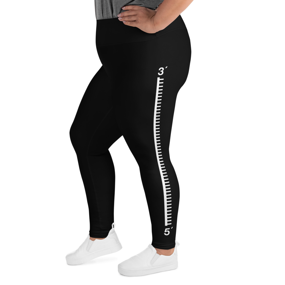 5' to 3' DNA Strand Plus Size Leggings