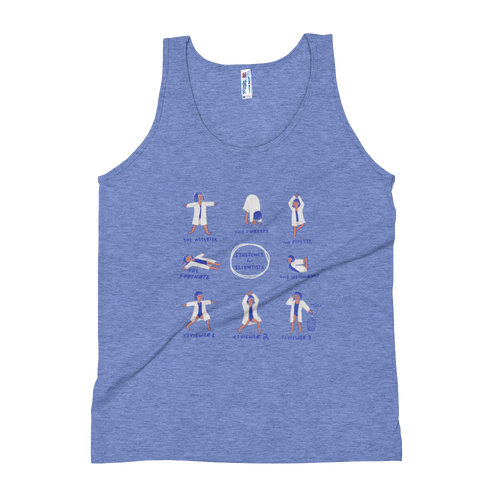 Stretches for Scientists Tank Top