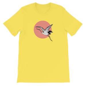 Red-Crowned Crane Boxy Tee