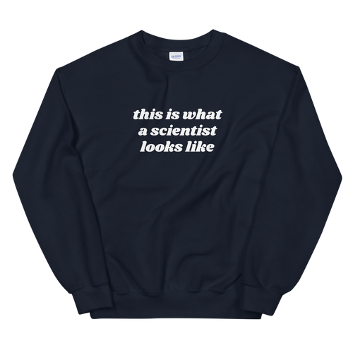 Scientist Crewneck (dark colors)