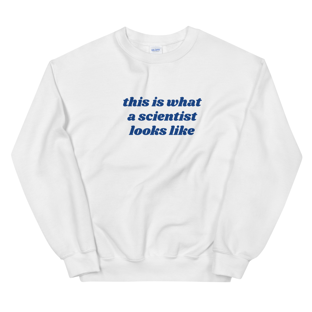 Scientist Crewneck (light colors)