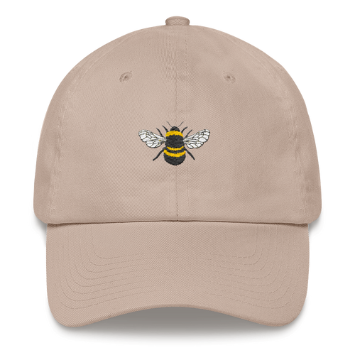 Embroidered Bee Cap