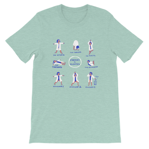 Stretches for Scientists Boxy Tee