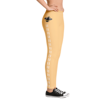 Load image into Gallery viewer, Yellow Bee Line Leggings
