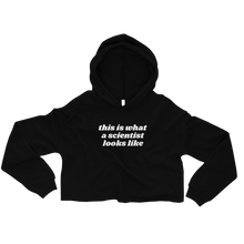 Load image into Gallery viewer, Scientist Crop Hoodie