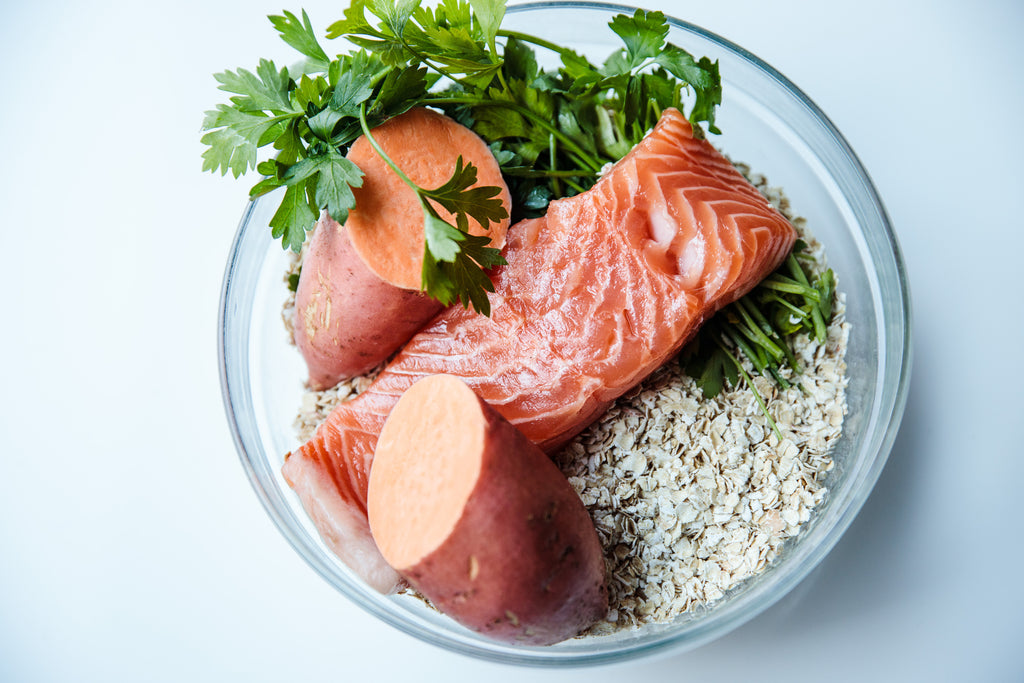 SALMON: Salmon + Sweet Potato + Parsley