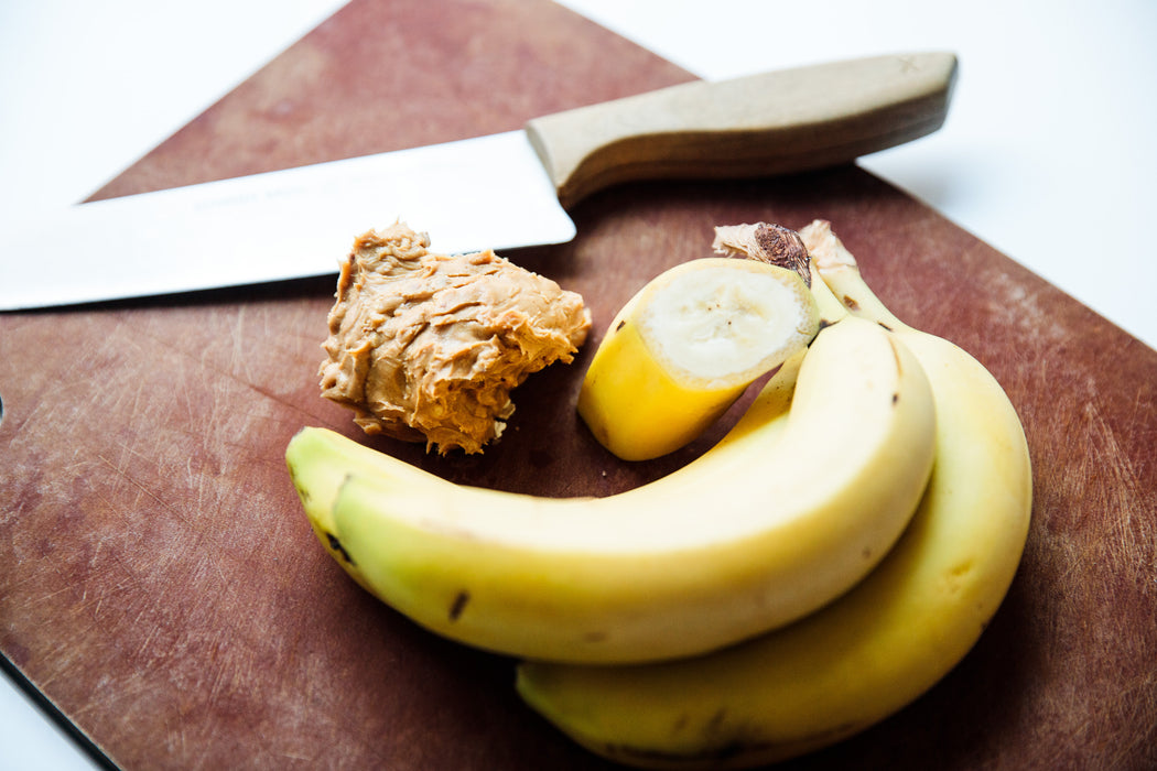 Grain Free PB & Banana Biscuits