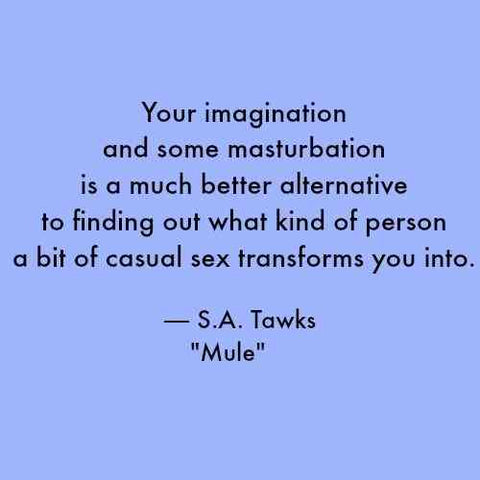 MASTURBATION MONTH QUOTE