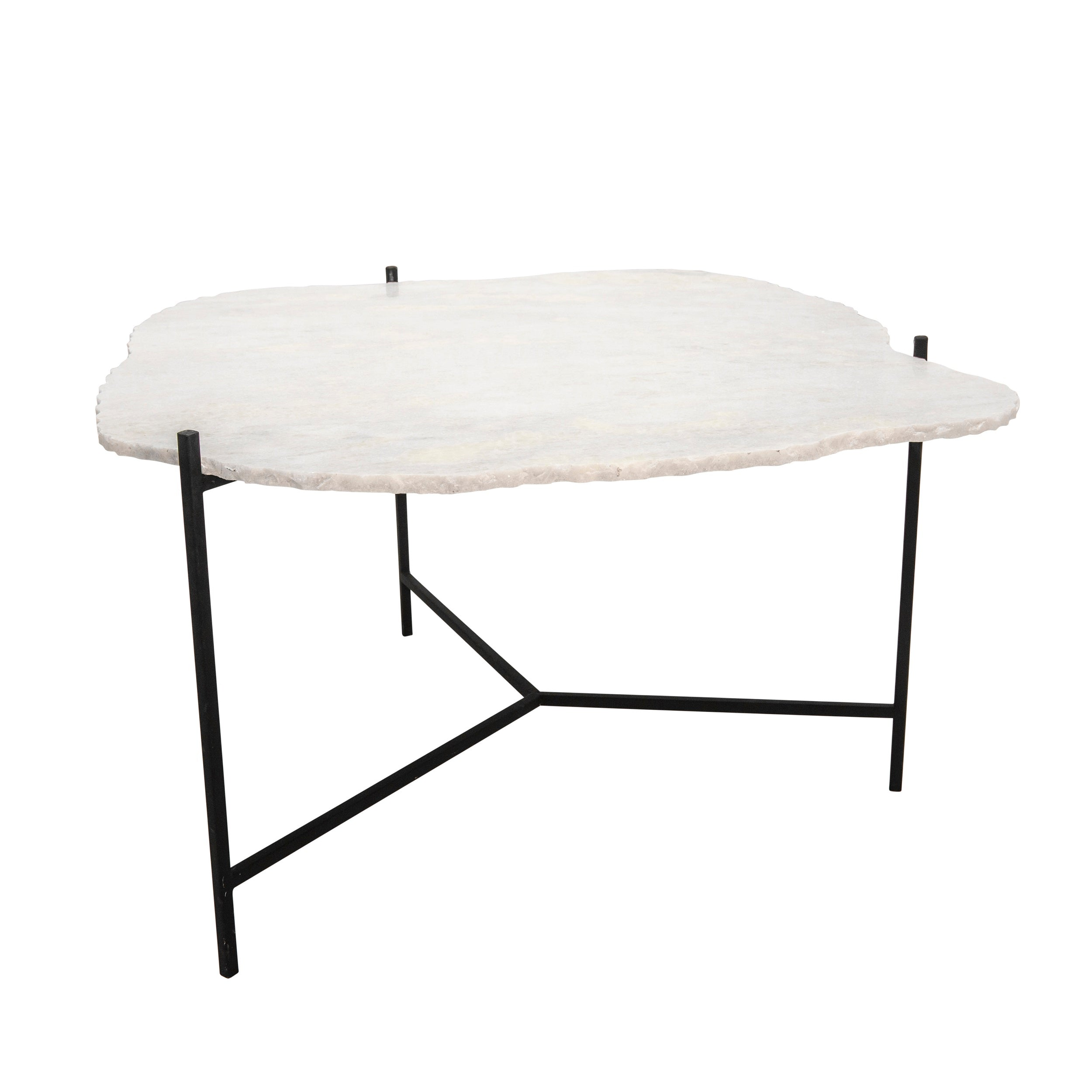 "18""H COFFEE TABLE, BLACK"
