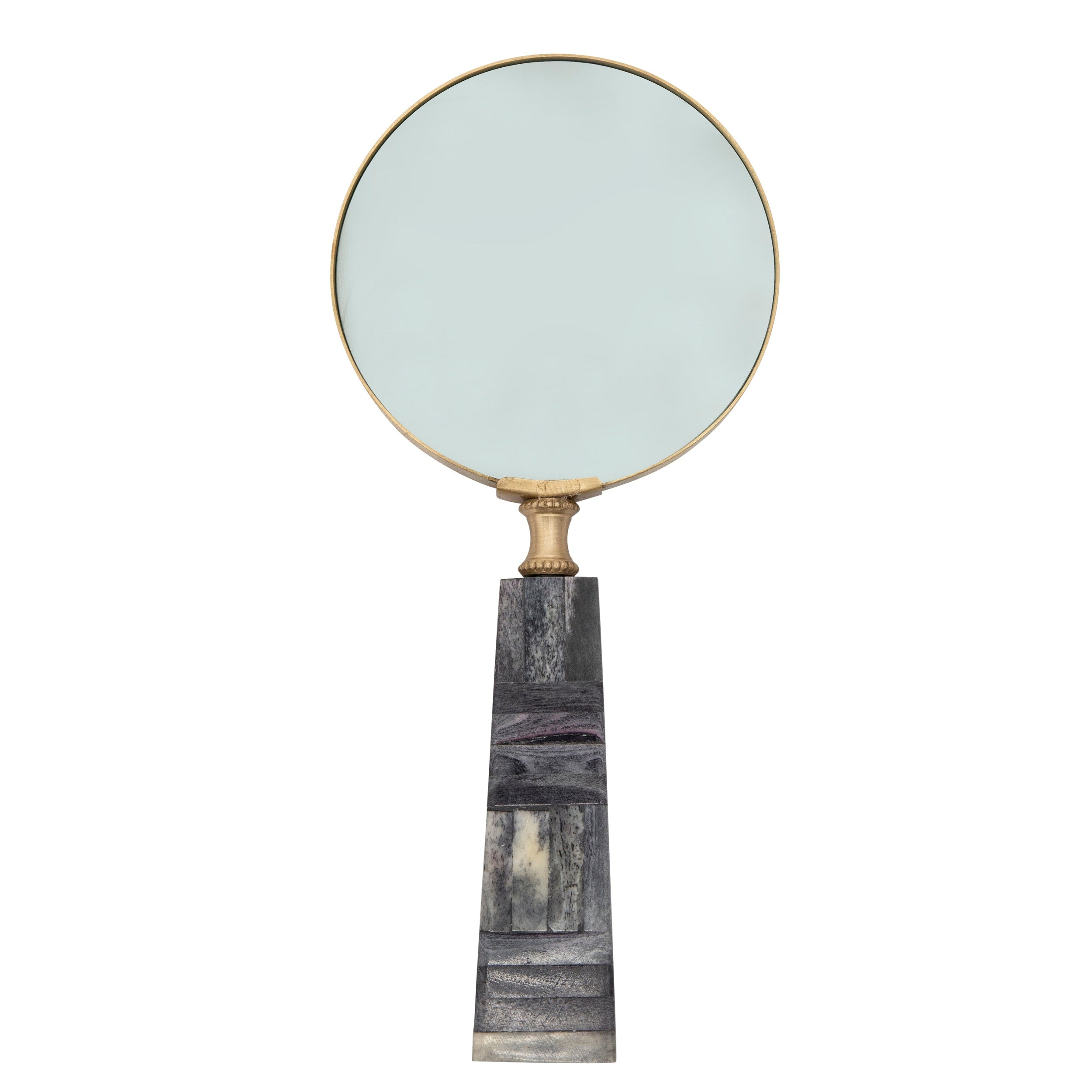 "4"" MAGNIFYING GLASS, GRAY"