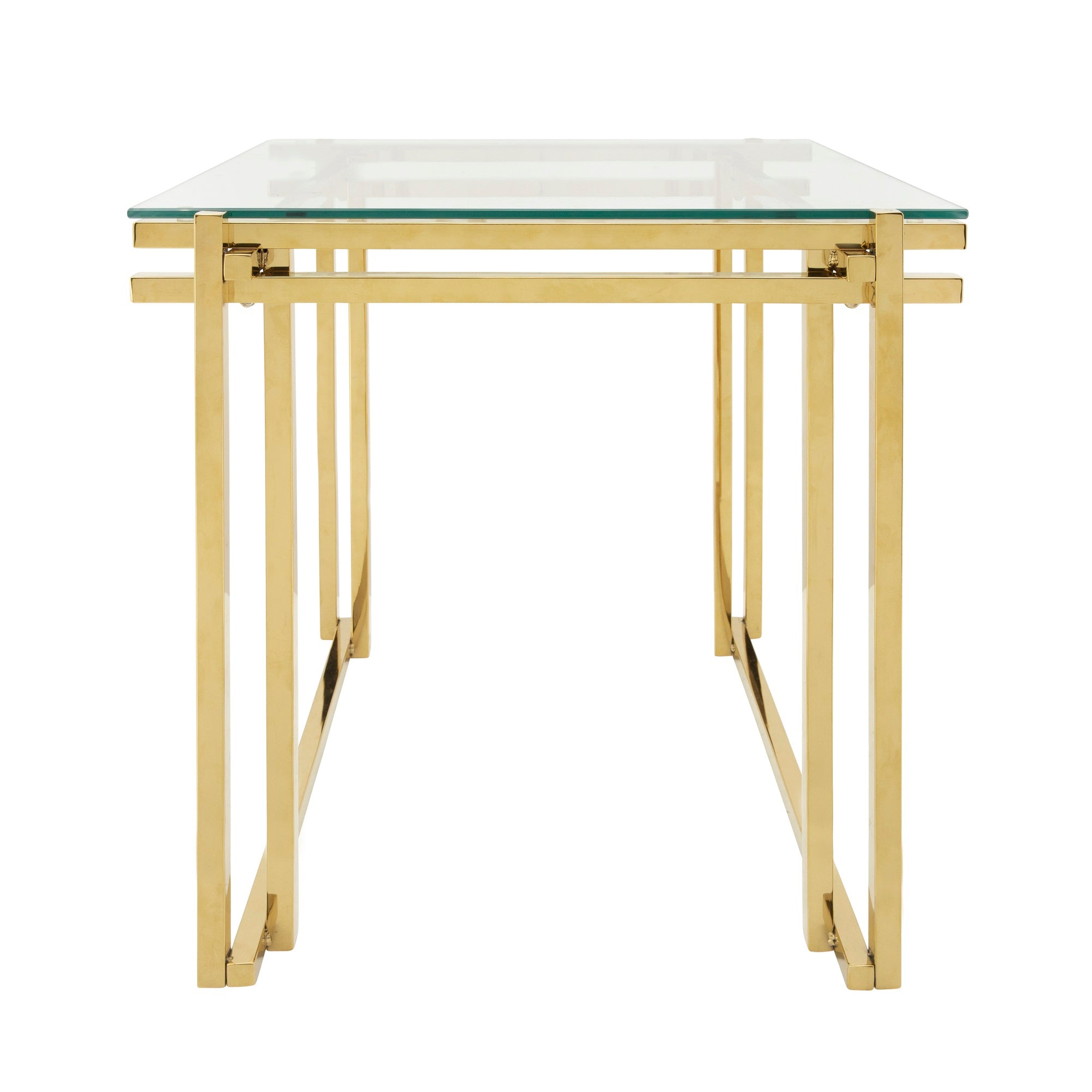 "Copy of METAL 24"" SIDE TABLE, GOLD"