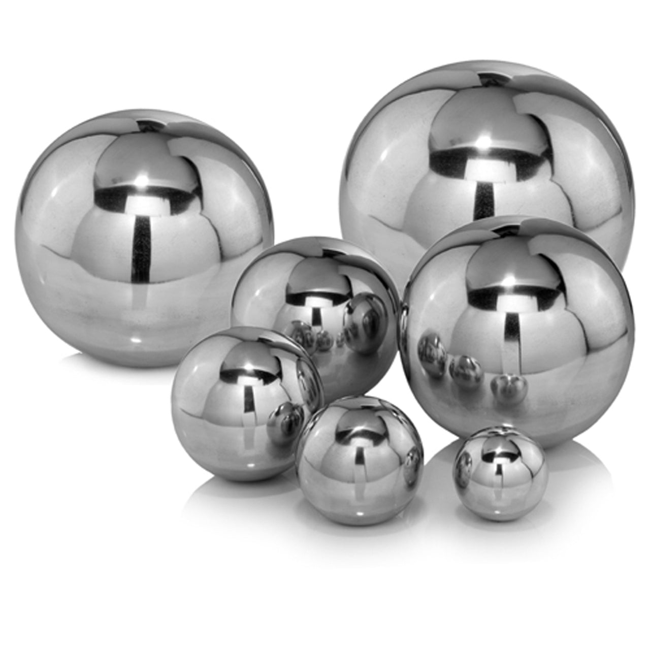 "Bola Polished Sphere 12""D - Casa Muebles"