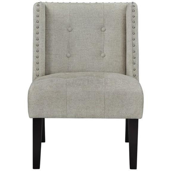 Living Room Accent Chair, WING LINEN
