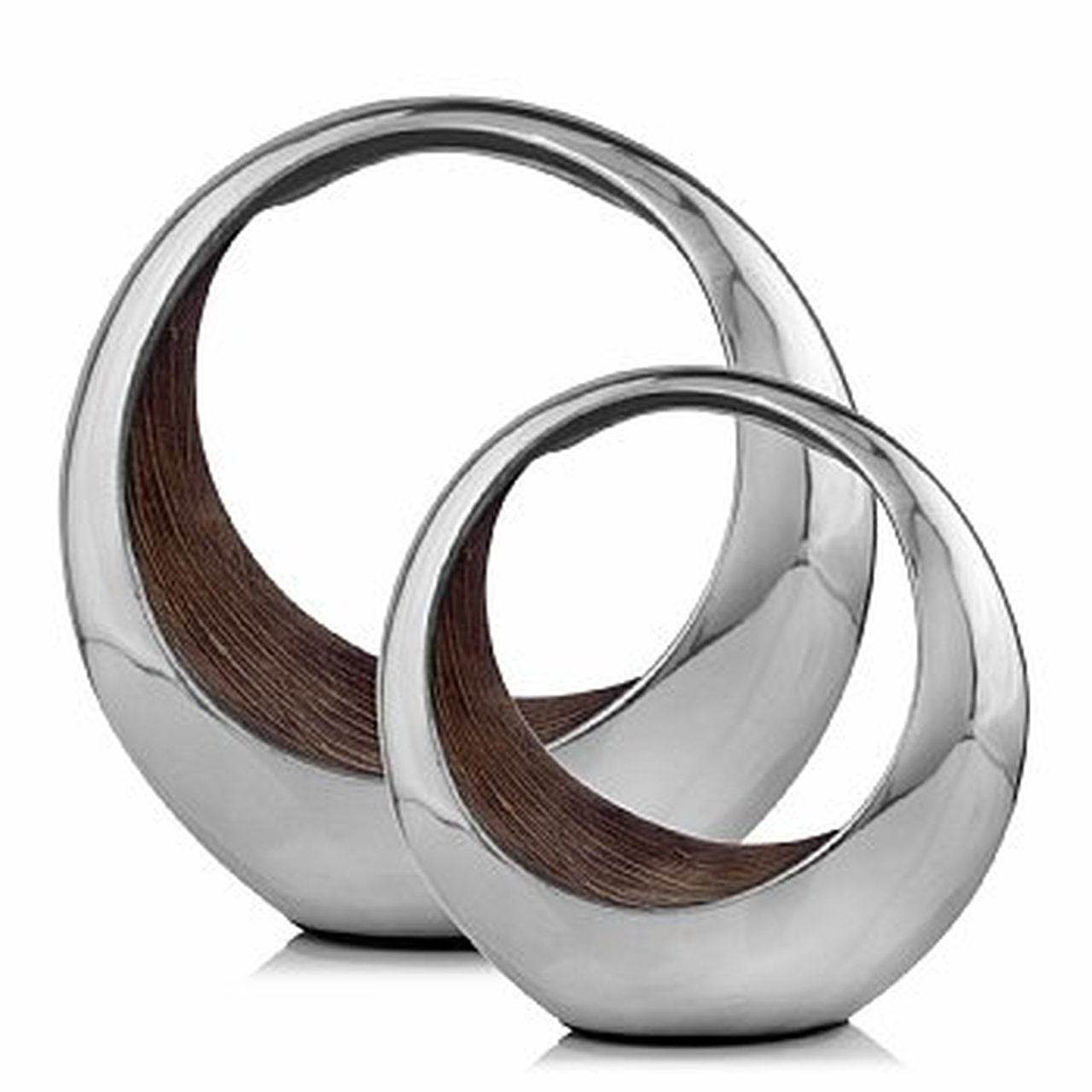 Anillo Bronze Ring Small 2 Tone Bowl - Casa Muebles