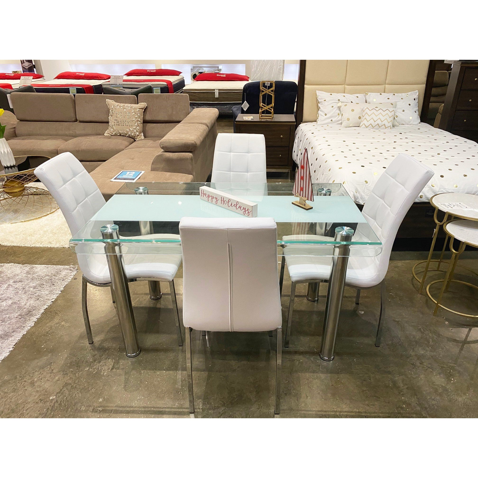 Dining Set - Glass Collection
