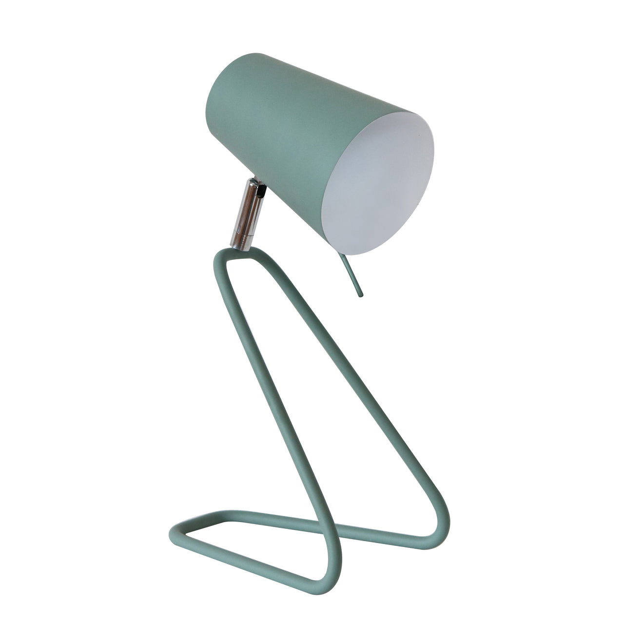 "METAL 12"" KNEELING DESK LAMP,GREEN - Casa Muebles"