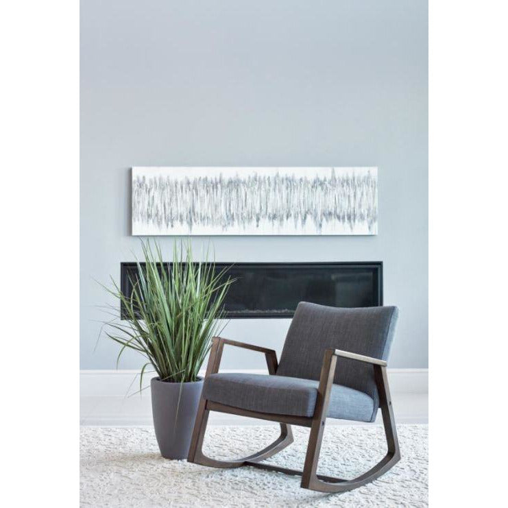 Rocking Chair, Dark Grey