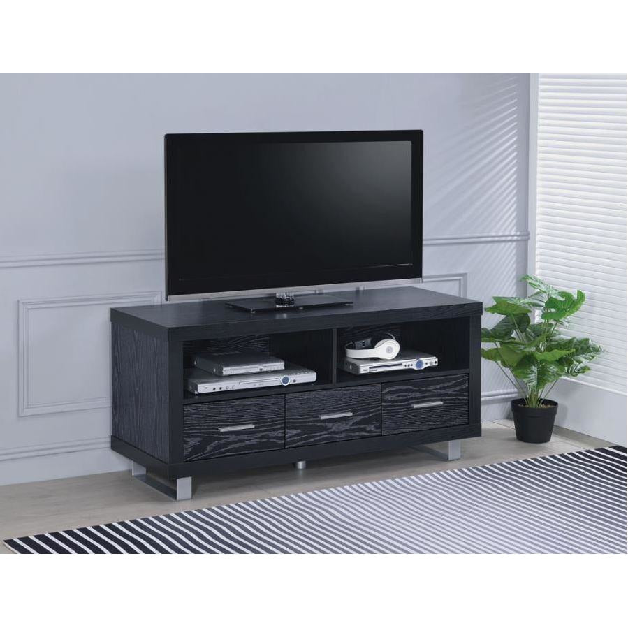 TV Stand Black Oak